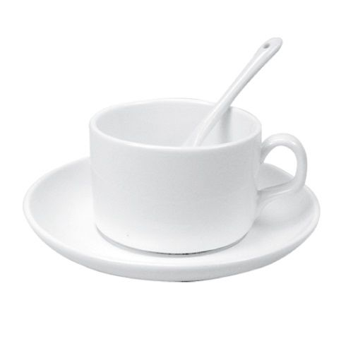 Saucer Tea Cup with Spoon