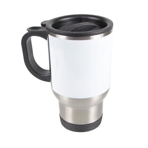 Steel Mugs White