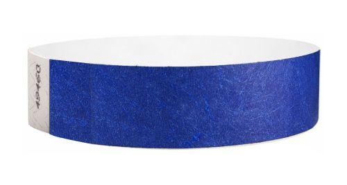Tyvek Wristbands Blue Color