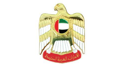 UAE Falcon Badges - 2100-1