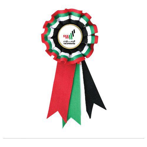 UAE Flag Rosette