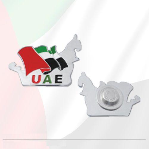 UAE Map Badge