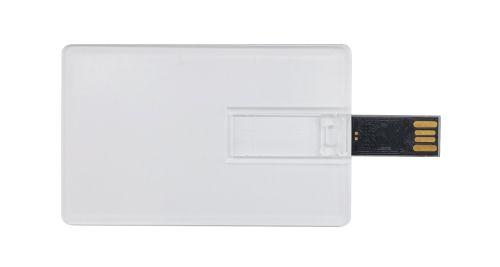 Transparent Card USB Flash Drives 4GB