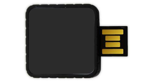Twister USB Flash Drives - Black Color 4GB