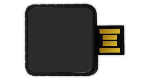 Twister USB Flash Drives - Black Color 8GB
