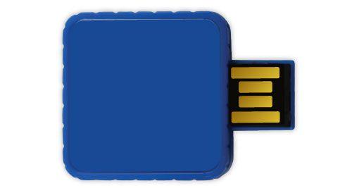 Twister USB Flash Drives - Blue Color 4GB