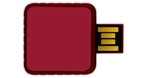 Twister USB Flash Drives - Maroon Color 4GB