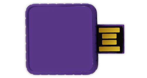 Twister USB Flash Drives - Purple Color 8GB