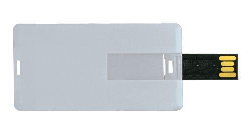Mini Cards Shaped USB Flash Drives - Rectangle 8 GB