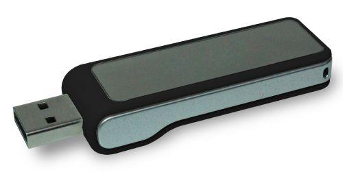 USB Flash Drives Digital logo color changing 8GB - Black