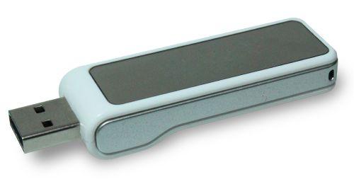 USB Flash Drives Digital logo color changing 8GB - White