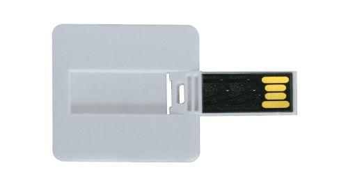 Mini Cards Shaped USB Flash Drives - Square 8 GB
