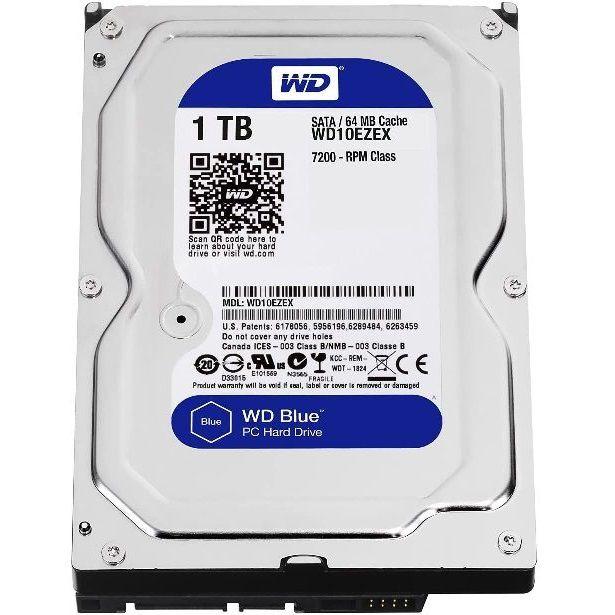 WD 1TB SATA Desktop Hard Drives