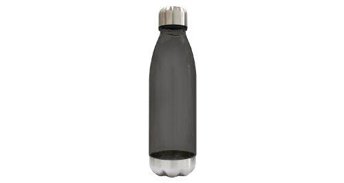Water Bottle Transparent Black Color