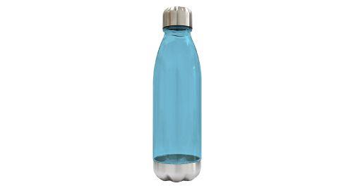 Water Bottle Transparent Blue Color