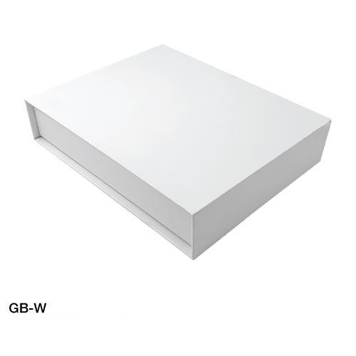 White  Gift Box with Magnetic Flap
