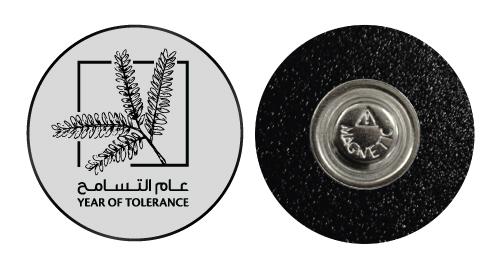 Year of Tolerance Badges - Round Shape