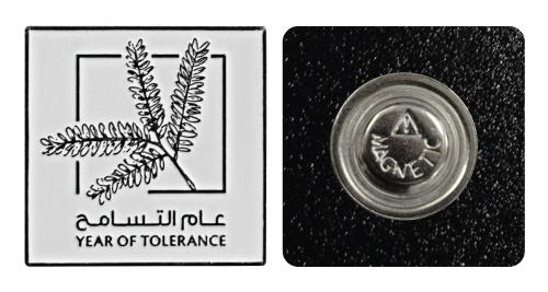 Year of Tolerance Badges - Square Shape